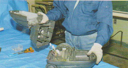 掃除機の分解修理5