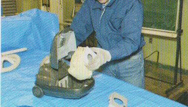 掃除機の分解修理2