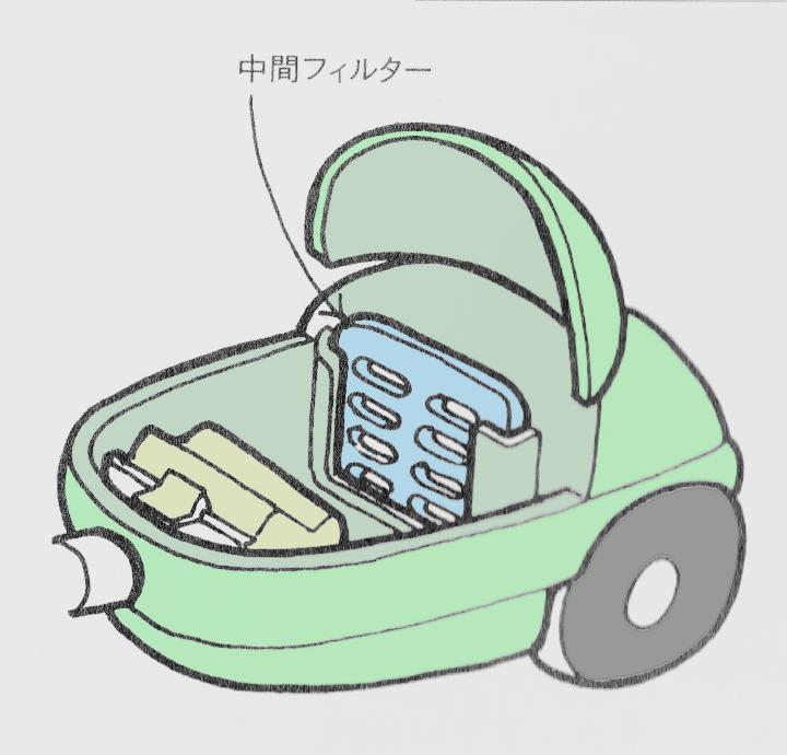 掃除機 修理1
