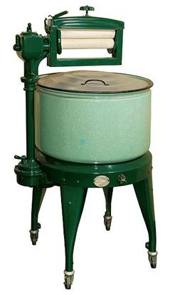 世界初の電気洗濯機