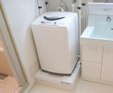 洗濯機の置き場所、広さ